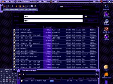 Το Napster σε Mac OS 9